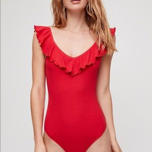 Aritzia Other - Wilfred - bodysuit - NWT